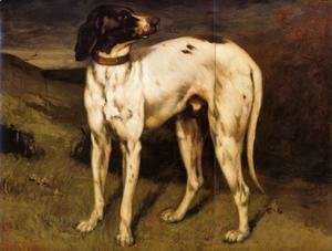 Gustave Courbet - A Dog from Ornans