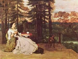 Gustave Courbet - The Lady of Frankfurt