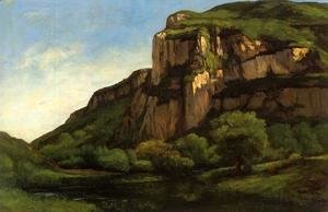 Gustave Courbet - Rocks at Mouthier
