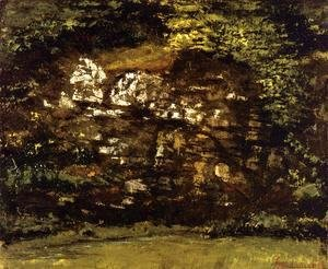Gustave Courbet - In the Woods