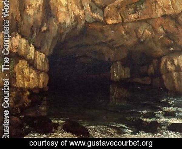 Gustave Courbet - The Source of the Loue