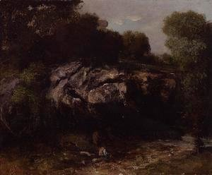 Rocky Landscape with Figure