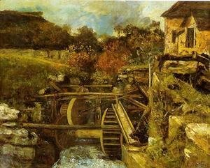 Gustave Courbet - The Ornans  Paper Mill