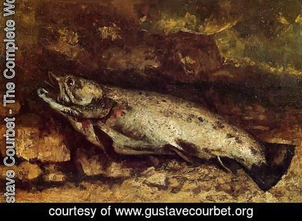 Gustave Courbet - The Trout