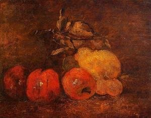 Still Life with Pears and Apples