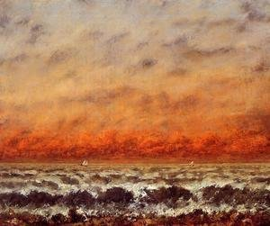 Gustave Courbet - Seascape I