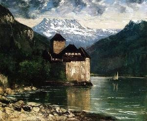 Gustave Courbet - Chateau du Chillon I