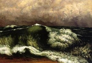 Gustave Courbet - The Wave I