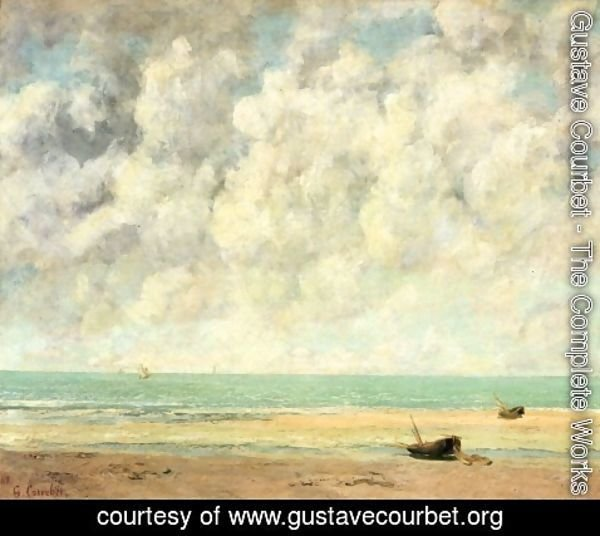 Gustave Courbet - The Calm Sea