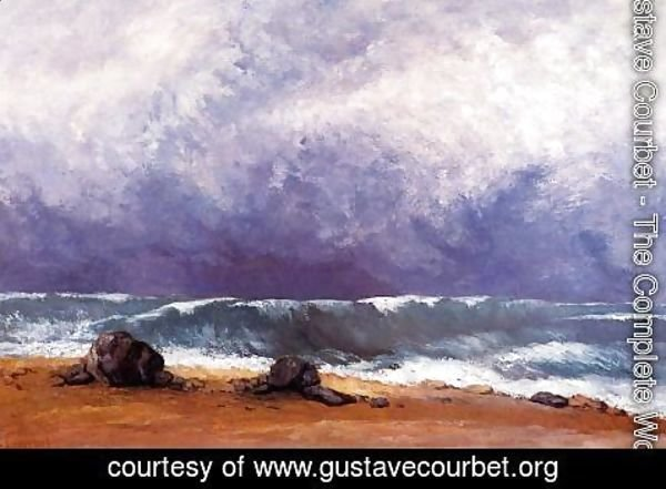 Gustave Courbet - The Wave IV