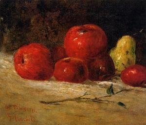 Gustave Courbet - Still Life: Apples and Pears