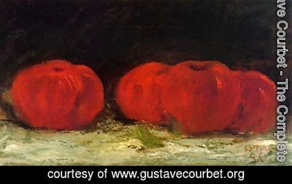 Gustave Courbet - Red Apples