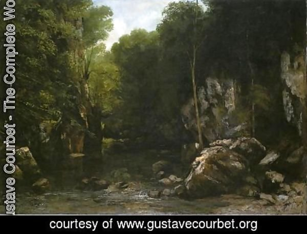 Gustave Courbet - Solitude