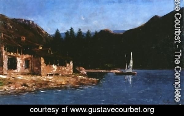 Gustave Courbet - The White Sail