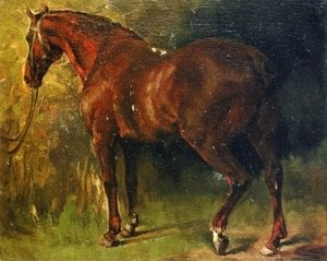 Gustave Courbet - The English Horse of M. Duval