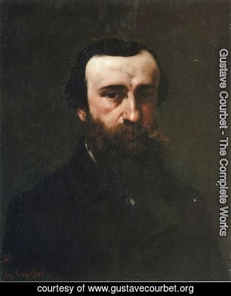 Gustave Courbet - Portrait of Monsieur Nicolle