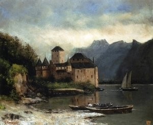 View of the Chateau de Chillon