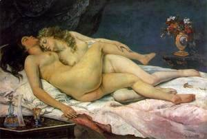 Gustave Courbet - The Sleepers
