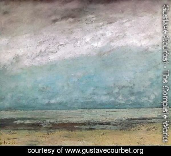 Gustave Courbet - Seacoast 2