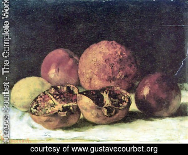 Gustave Courbet - Pomegranates