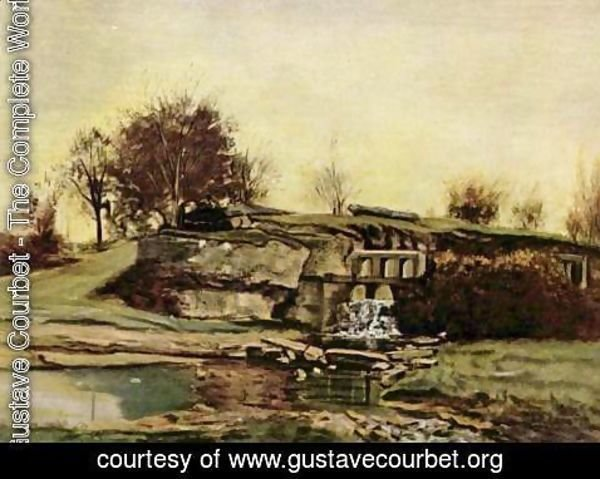 Gustave Courbet - The quarry of Optevoz