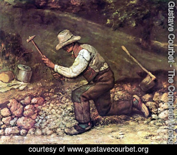 Gustave Courbet - The Stone Breaker