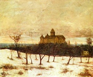 Gustave Courbet - View of Neuenburger