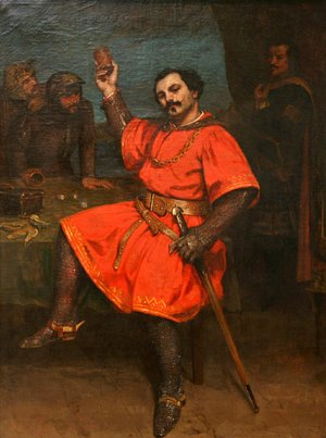 Gustave Courbet - Louis Gueymard (1822-1880) as Robert le Diable