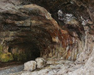 Gustave Courbet - The Grotto of Sarrazine near Nans-sous-Sainte-Anne