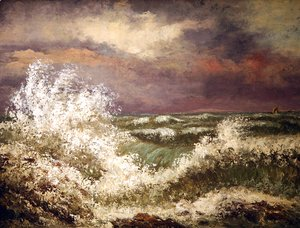 Gustave Courbet - The Wave 4