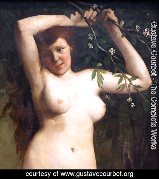 Gustave Courbet - Torso of a Woman