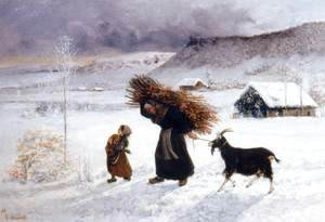 Gustave Courbet - Poor Woman of the Village 2