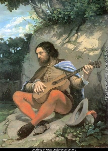 Young Man in a Landscape (The Guitarrero)