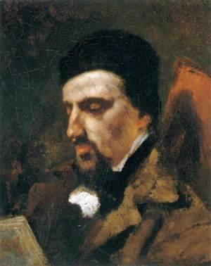 Gustave Courbet - Portrait of Urbain Cuenot