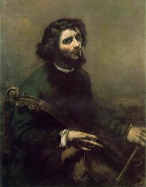 Gustave Courbet - Self-Portrait (The Cellist)