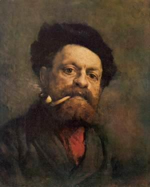 Gustave Courbet - Man with Pipe