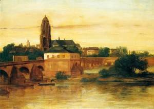 Gustave Courbet - View of Frankfurt am Main