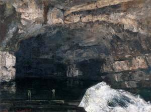 Gustave Courbet - The Source of the Loue 2