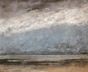 Gustave Courbet - Beach near Trouville