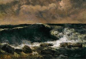 Gustave Courbet - The Wave 5