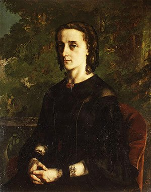 Gustave Courbet - Madame de Brayer 1858