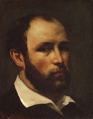 Gustave Courbet - Portrait of a Man, probably ca. 1862