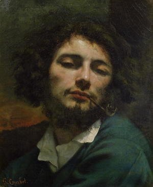 Self Portrait or The Man with a Pipe 1846