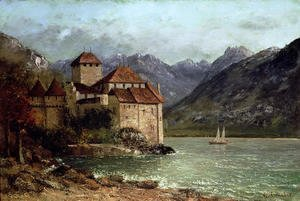 Gustave Courbet - The Chateau de Chillon 1875