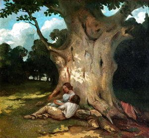 Gustave Courbet - The Large Oak 2