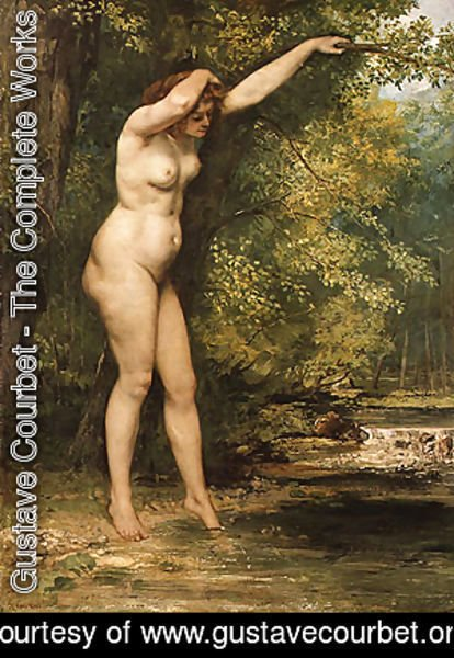 Gustave Courbet - The Young Bather 1866