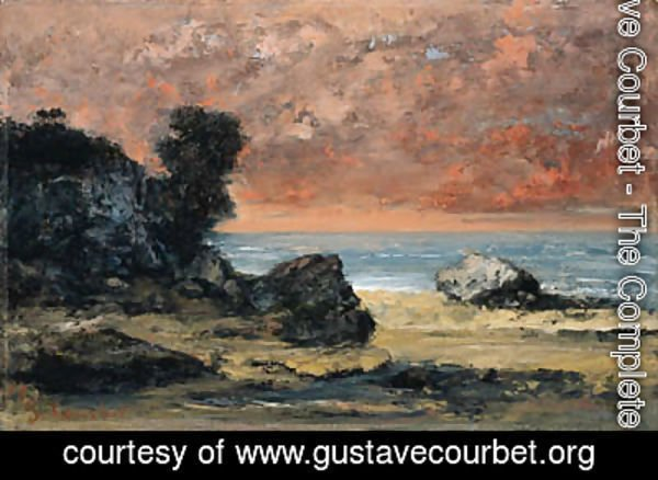 Gustave Courbet - Aprs l'orage, Marine (After the Storm)