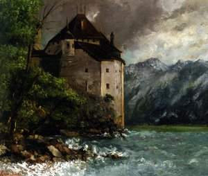 Gustave Courbet - Chateau de Chillon