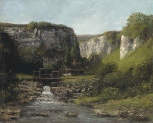 Jura Landscape with a Watermill