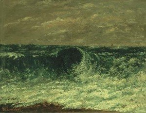 Gustave Courbet - La Vague 2